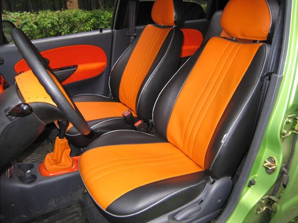 oranzhevye chekhly na sideniya - Чехлы на автомобильные сидения какие лучше выбрать