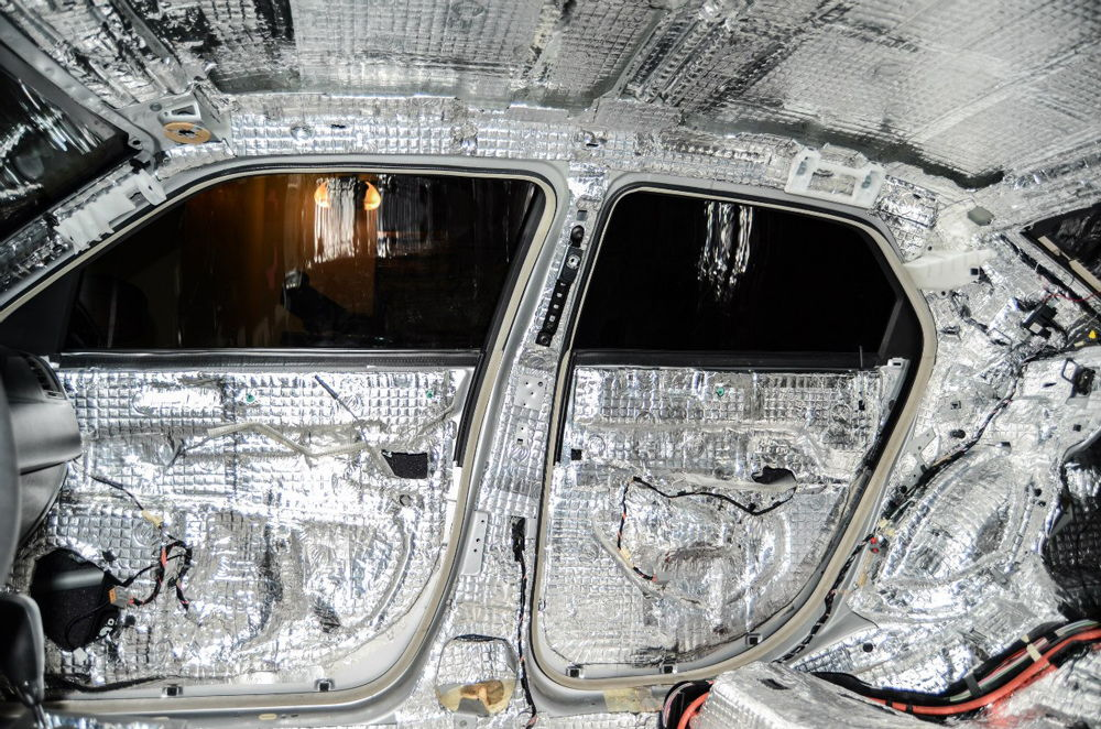 shumoizolyaciya avtomobilya polnostyu - Шумоизоляция строительными материалами автомобиля