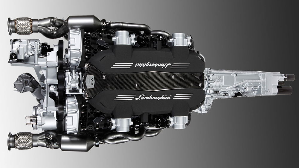 Двигатель Lamborghini Veneno