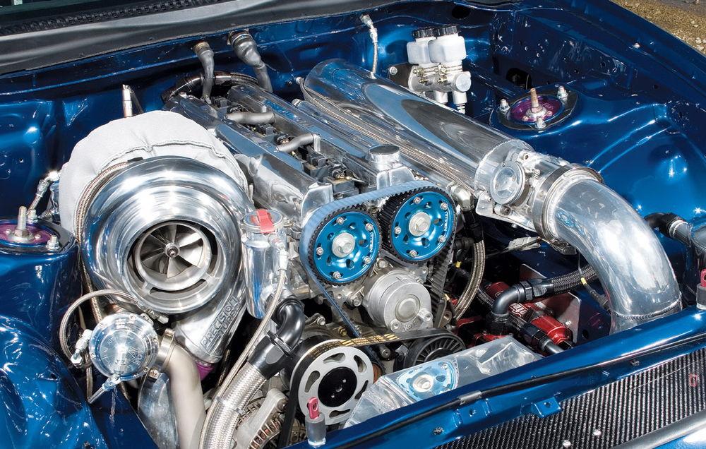 Доработанный двигатель автомобиля