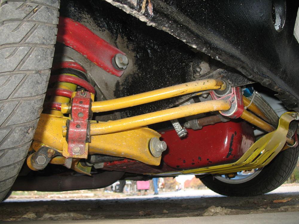 Тюнингованная подвеска ВАЗ-2106