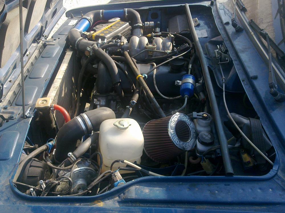 Двигатель ВАЗ-2107 с нагнетателем