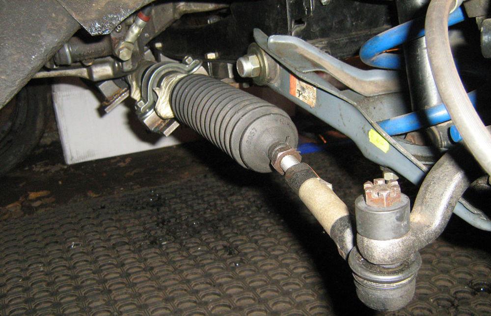 Устройство рулевой рейки и механизма Ваз 2107