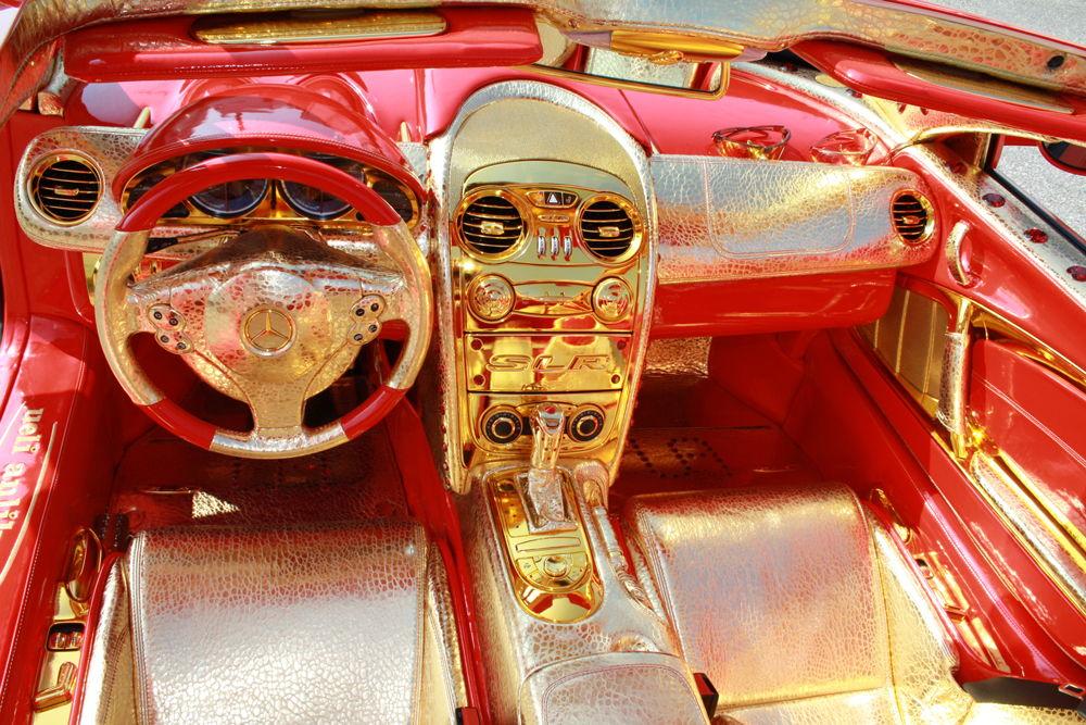 Тюнингованый салон Mercedes-Benz SLR