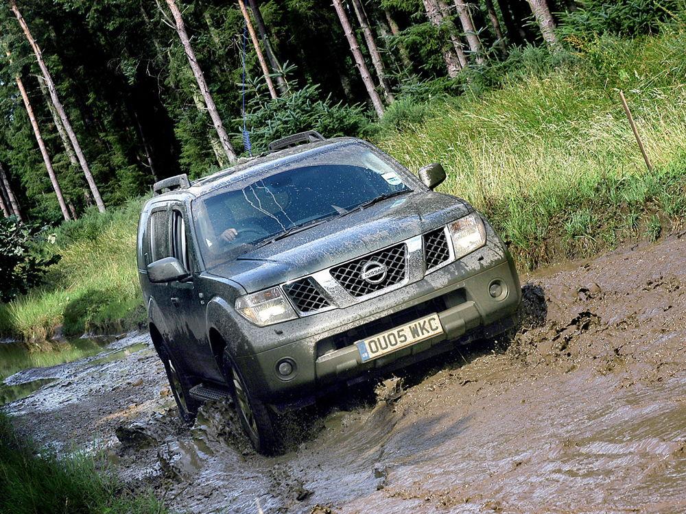 Nissan Pathfinder R51 на бездорожье