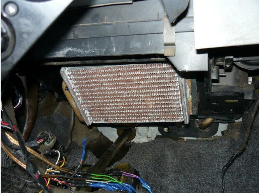 Дэу нексия замена радиатора отопления