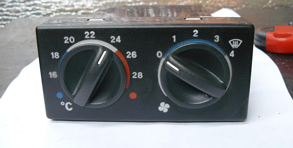 Блок управления отопителем ВАЗ 2110