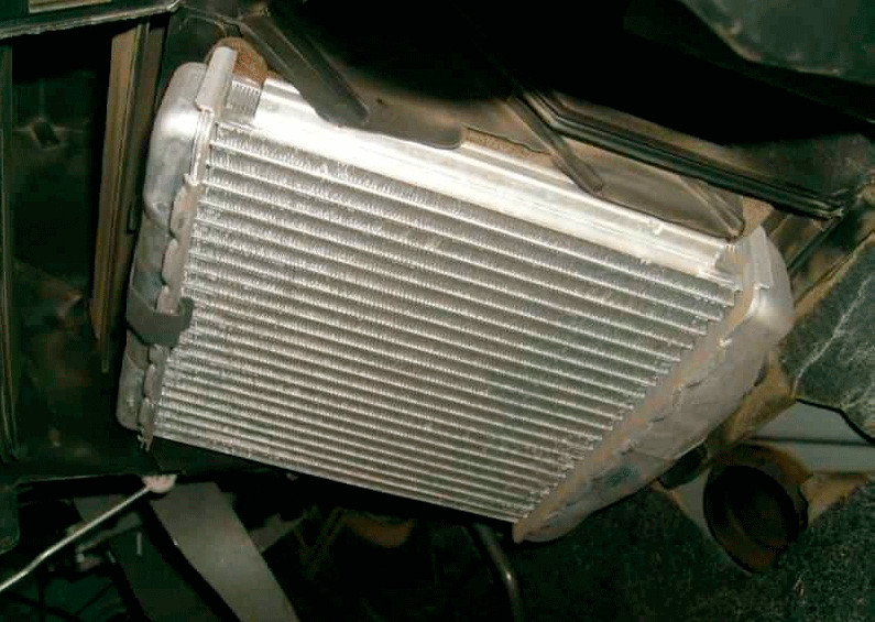 Радиатор печки Шевроле Ланос
