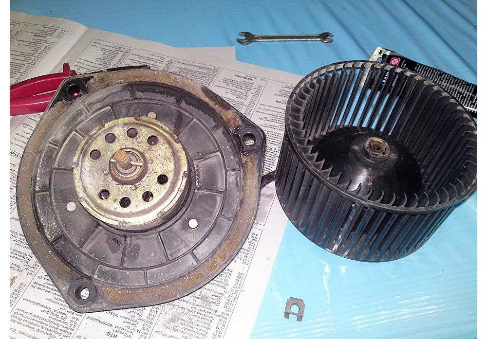 Вентилятор печки ВАЗ-2112