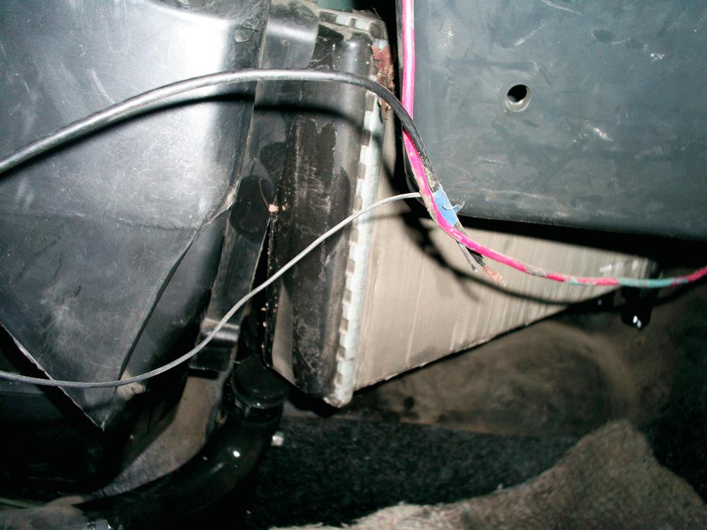Замена радиатор ВАЗ-2109