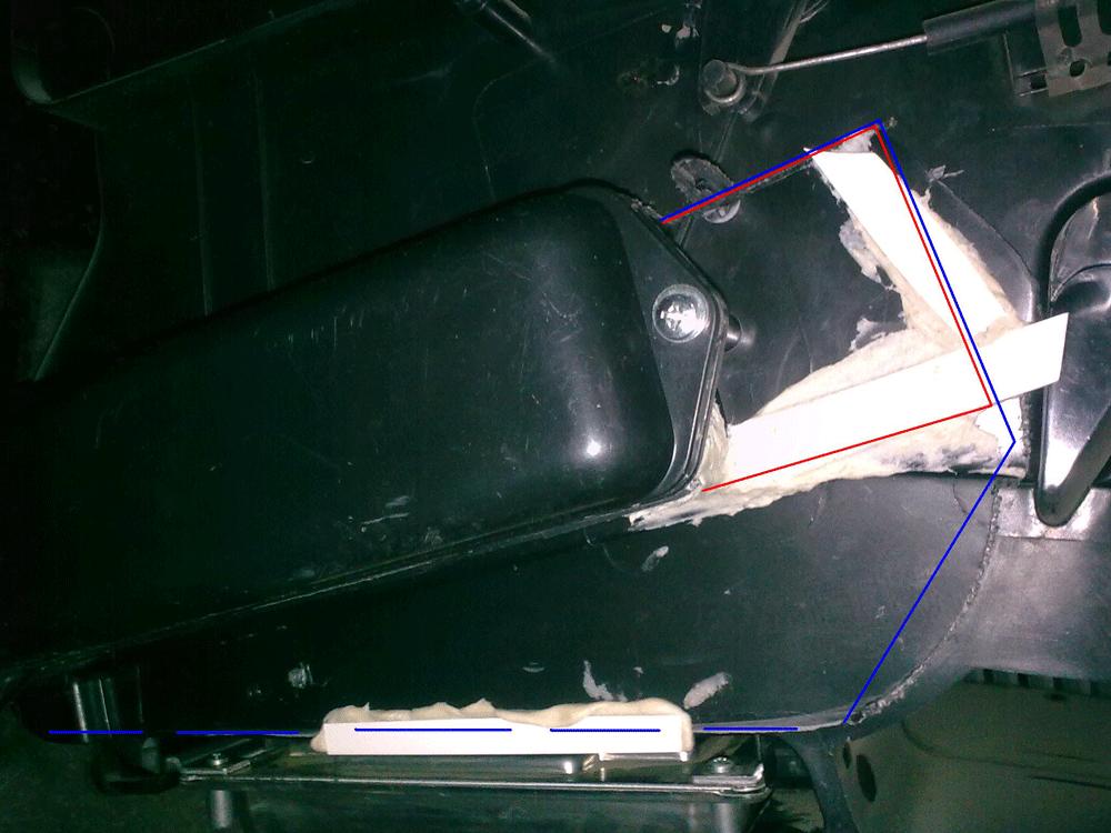 Замена радиатора отопителя на Лада Калина