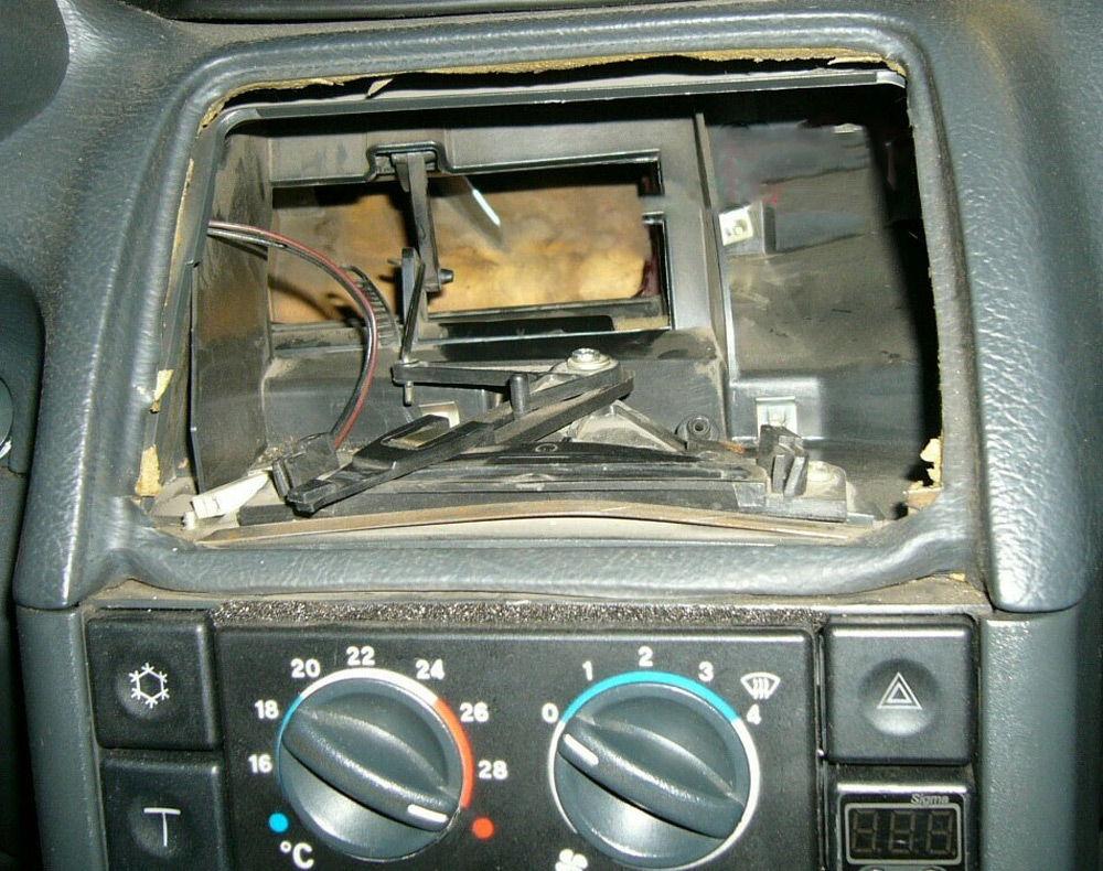 Ремонт панели отопления ВАЗ-2110