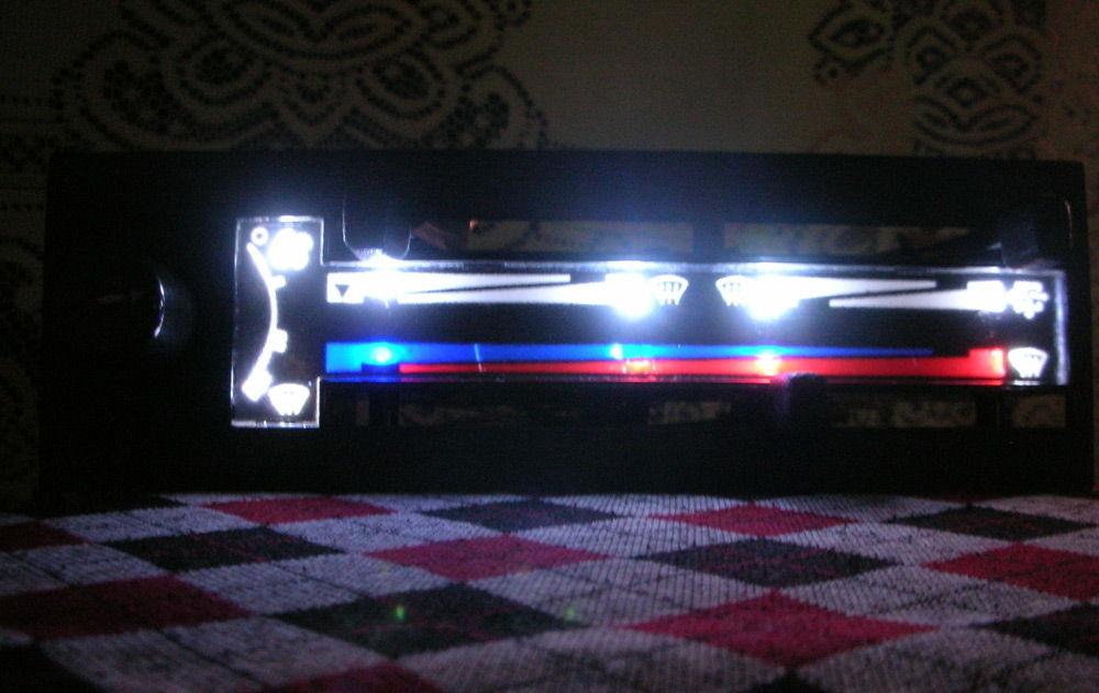 Подсветка отопителя ВАЗ-2110