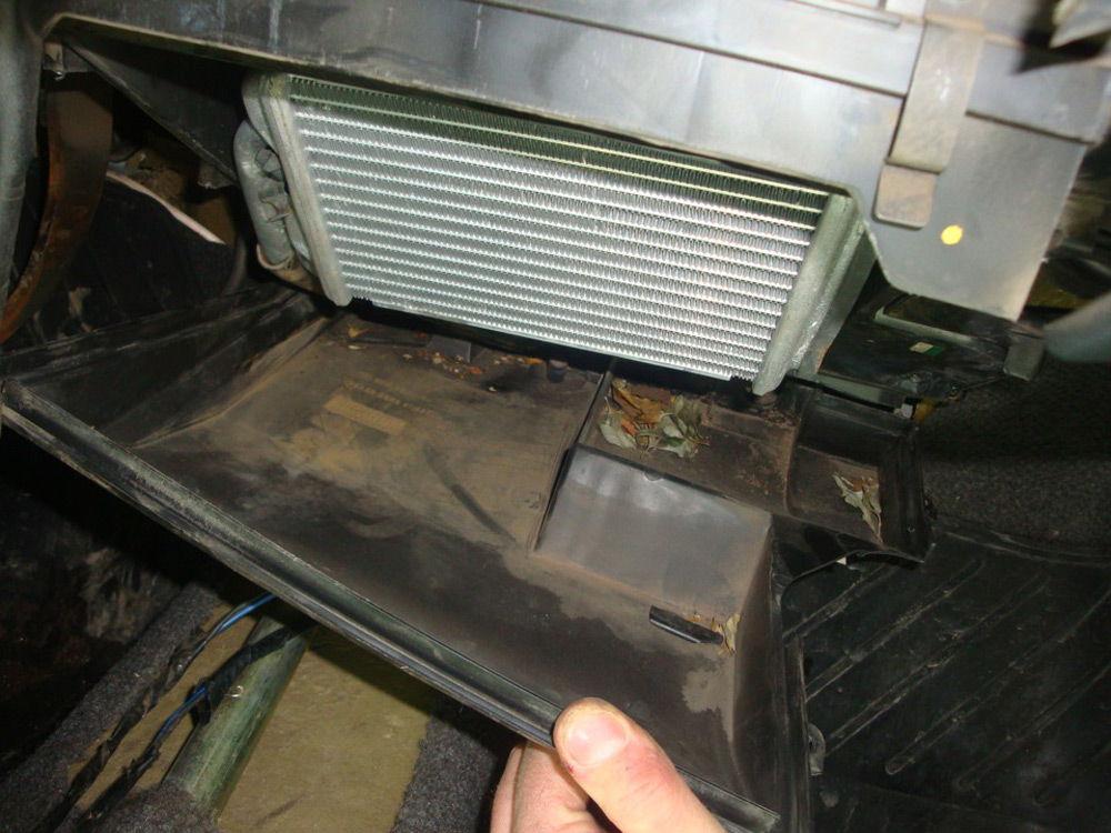 Радиатор печки автомобиля Daewoo Nexia