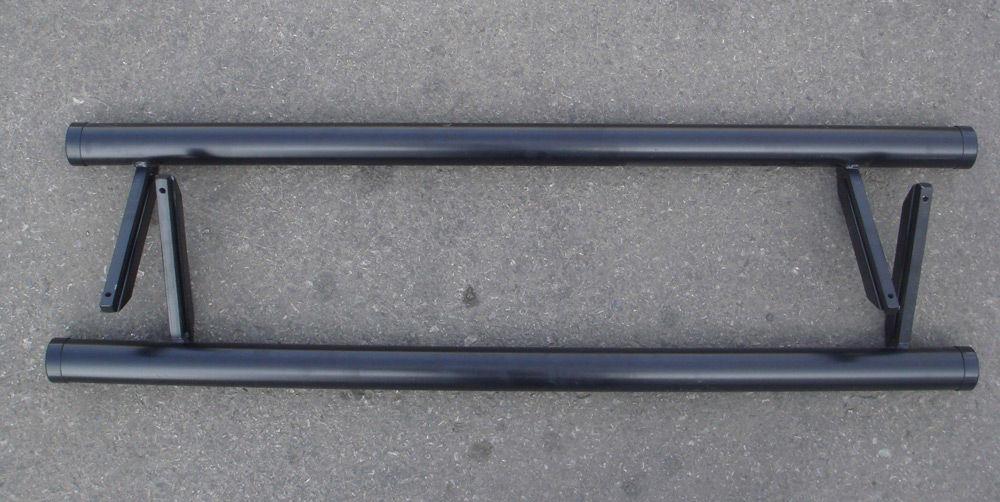 Трубы на бампер Нивы