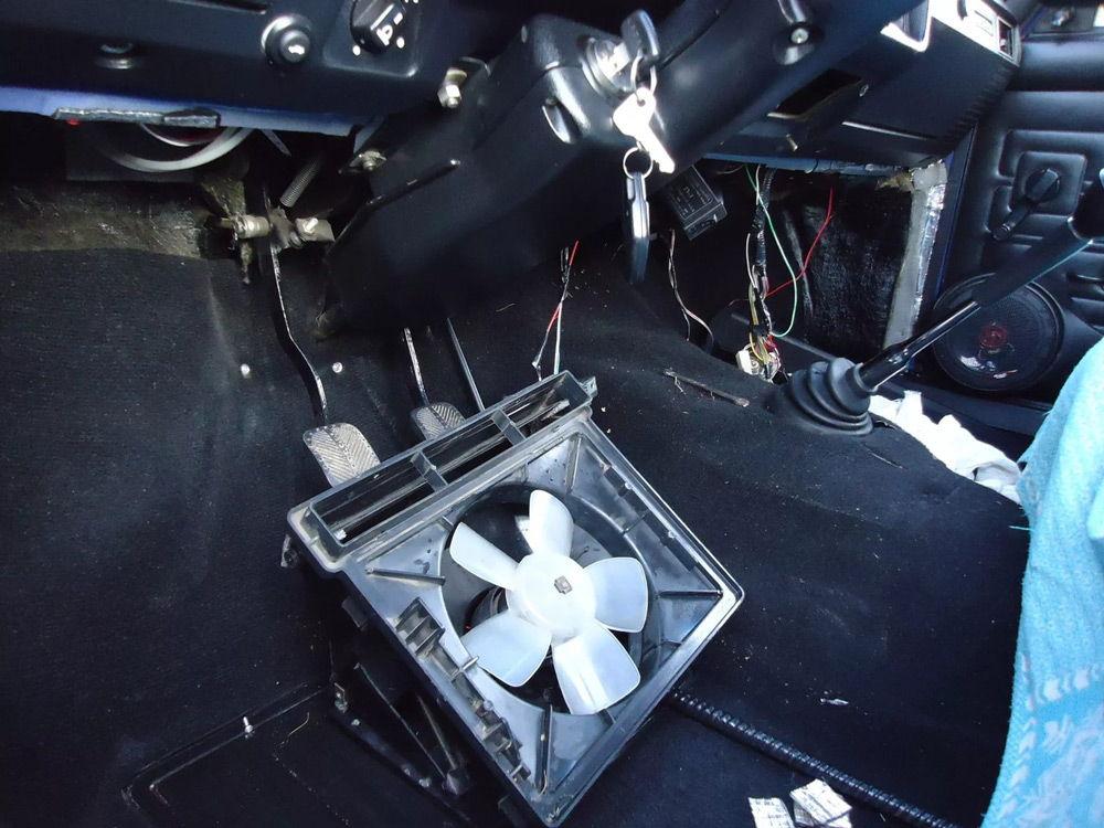 Замена радиатора печки ВАЗ-2107