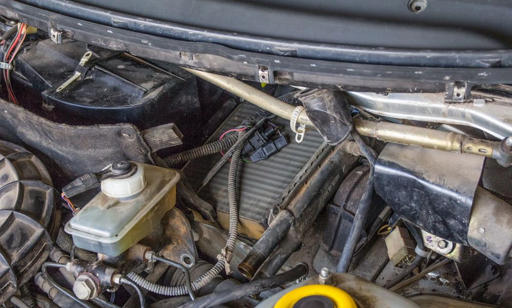 Принцип замены радиатора отопителя ВАЗ-2115