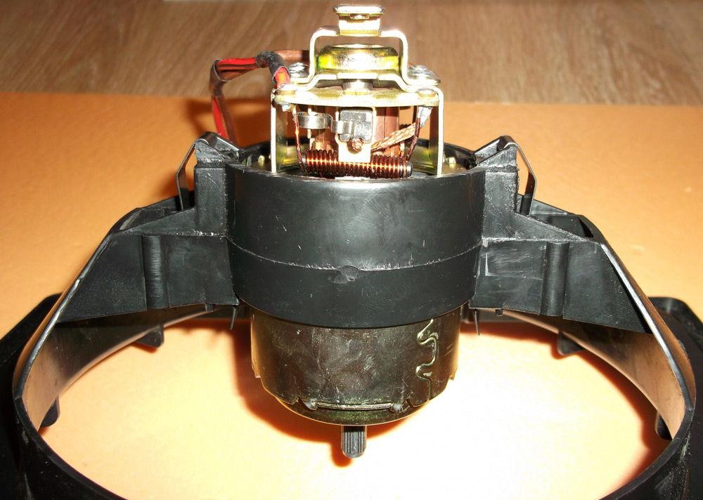 Моторчик печки ВАЗ