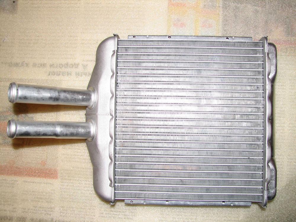 Новый радиатор печки на Шевроле Ланос