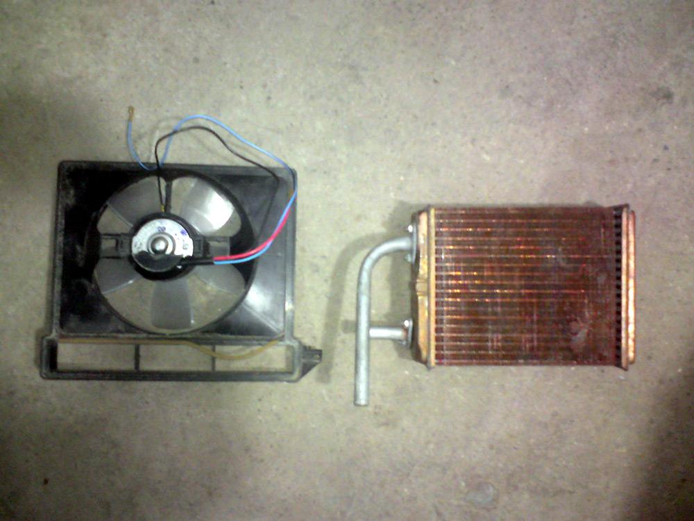 Демонтаж радиатора печки ВАЗ-2106