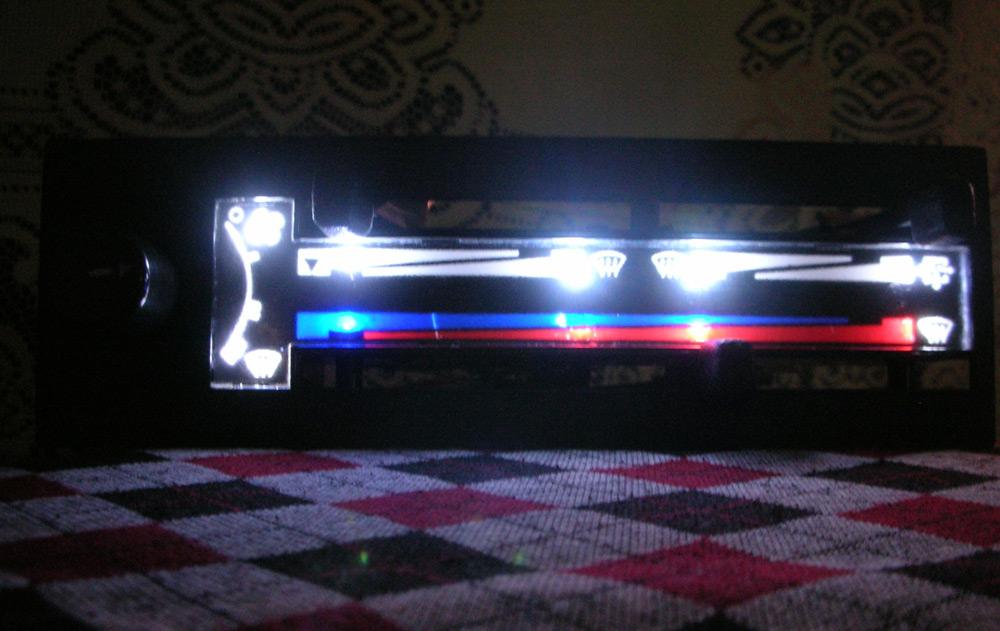 Подсветка печки ВАЗ-2114