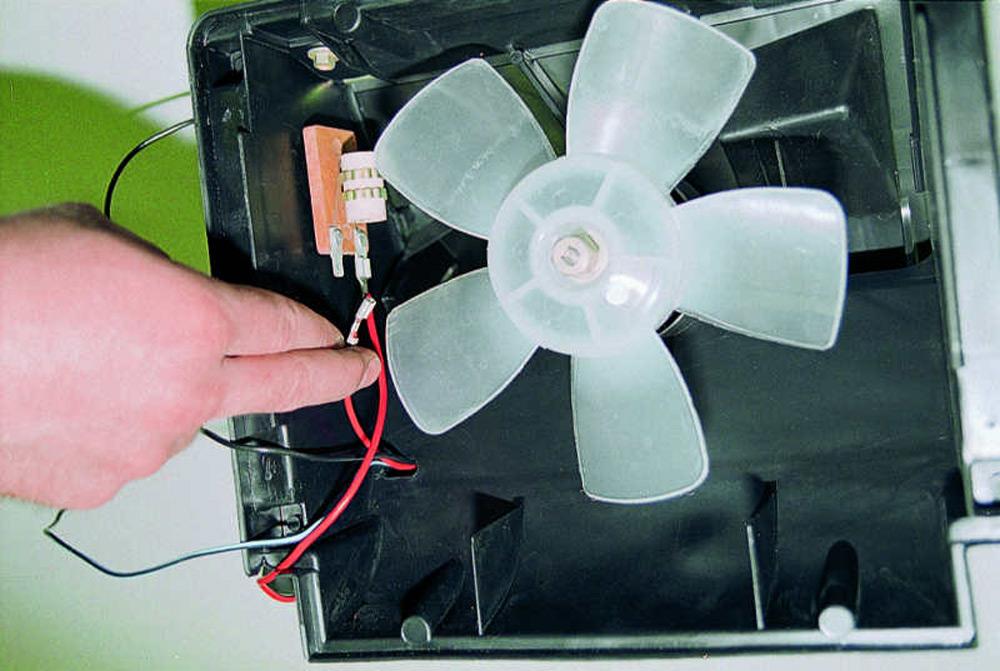 Ремонт вентилятора печки ВАЗ-2106