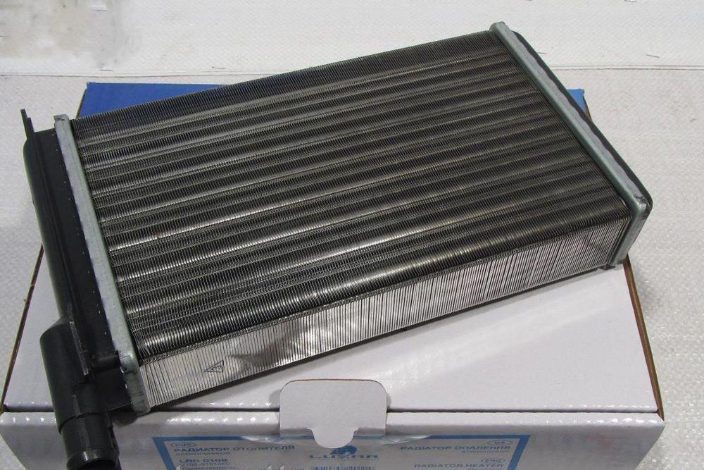aluminievuy radiator pechki 1 - Установка радиатора печки ваз 2114