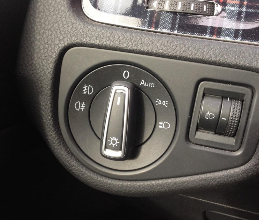 Переключатель вентилятора печки ВАЗ-2114