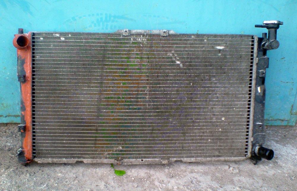 Потеки антифриза на радиаторе печки