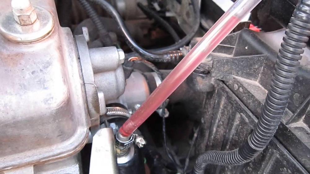 Выгнать воздушную пробку из печки ВАЗ-2114