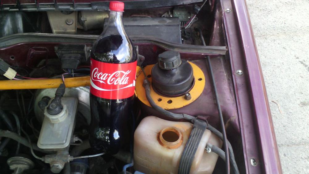 Промывка радиатора ВАЗ 2114 Кока Колой