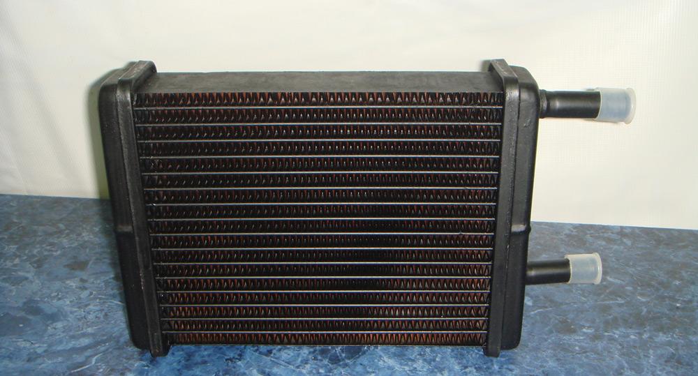 mednuy radiator pechki - Что лучше отводит тепло медь или алюминий
