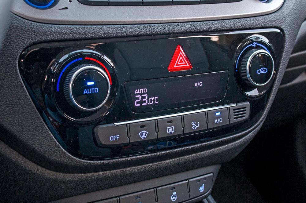 Панель климат-контроля авто