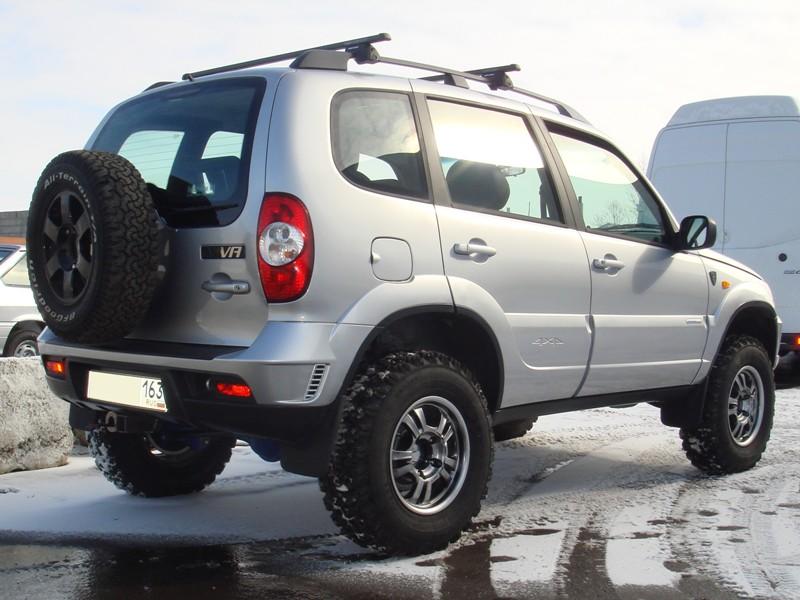 Тюнинг для бездорожья Chevrolet Niva