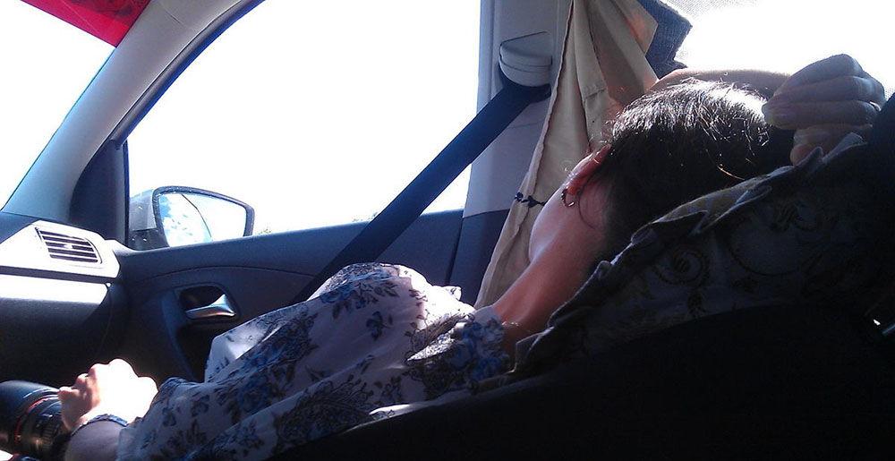 Спать в машине