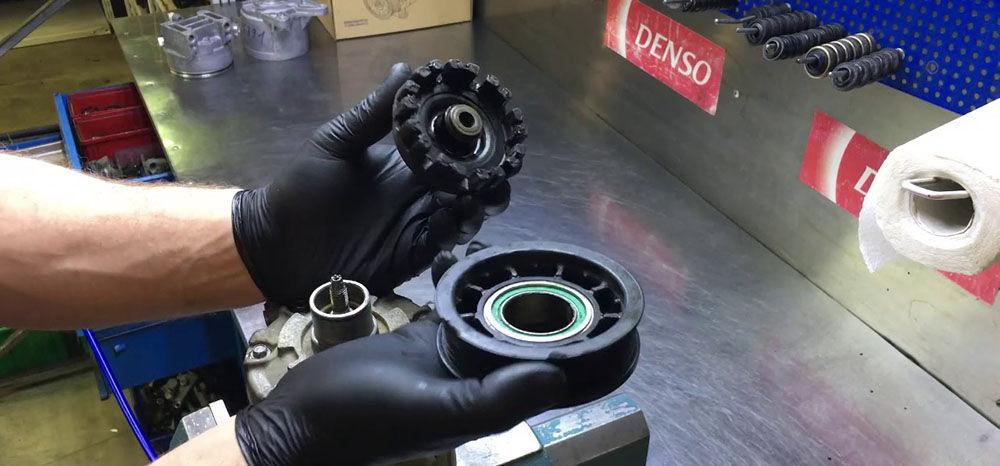 Поломка клапана компрессора