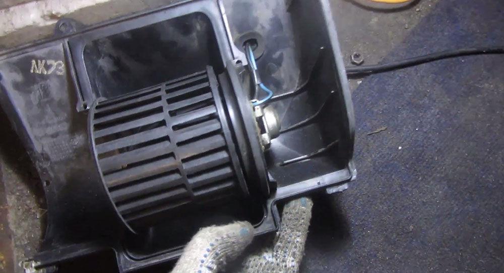 Печной вентилятор ВАЗ-2110