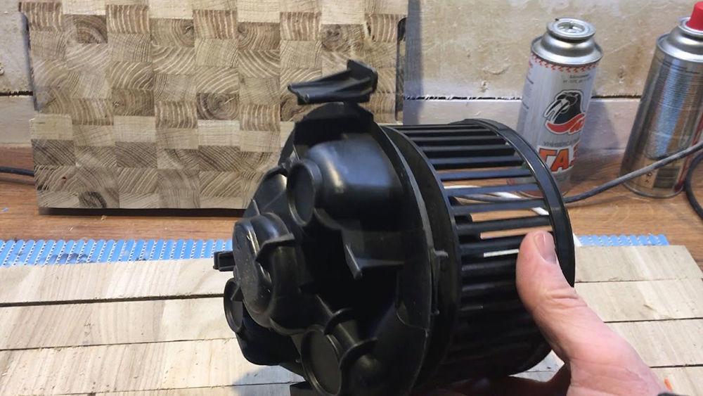 Ремонт моторчика печки