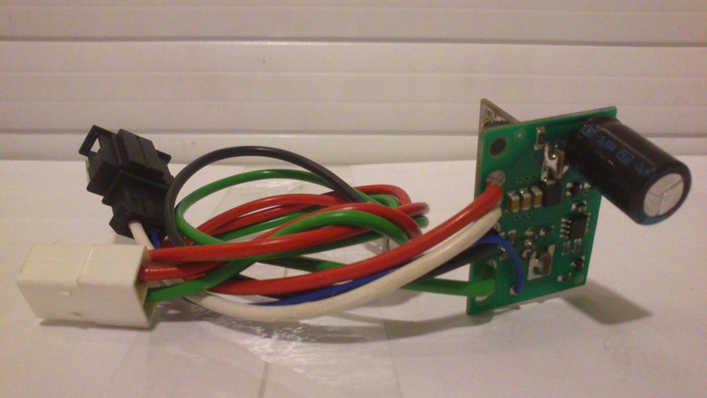 Дополнительный резистор отопителя ГАЗ-3110