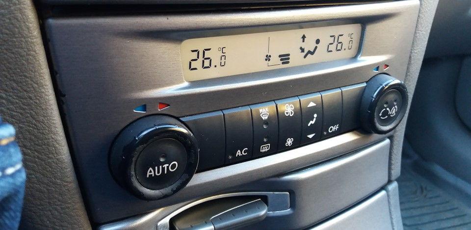 Климат-контроль Laguna 2