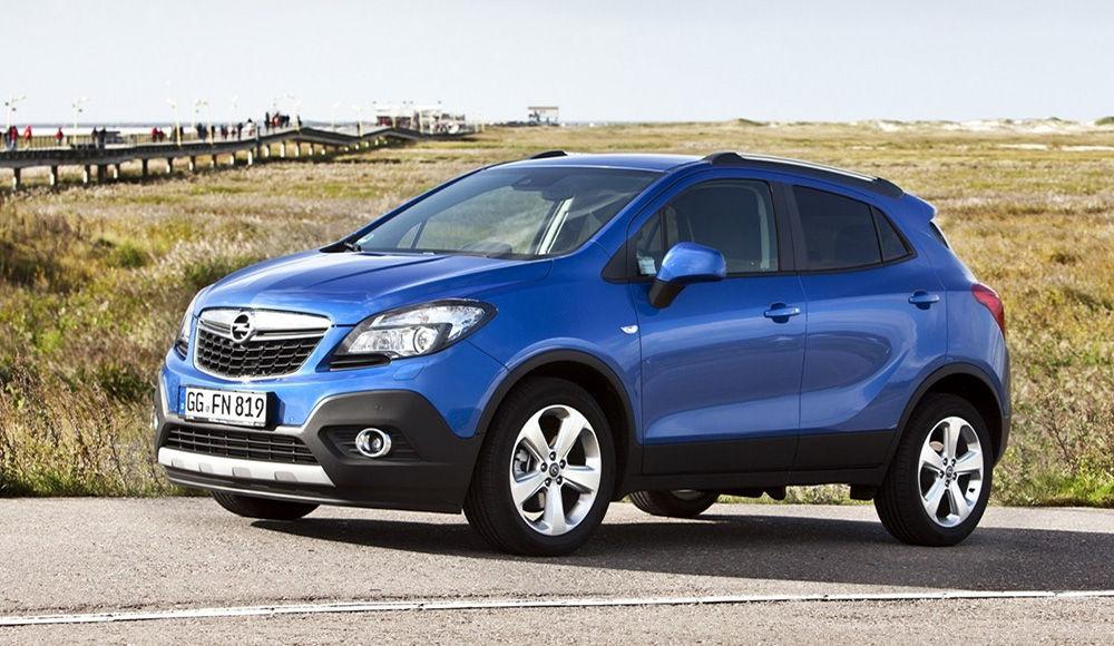 Замена салонного фильтра Opel Mokka