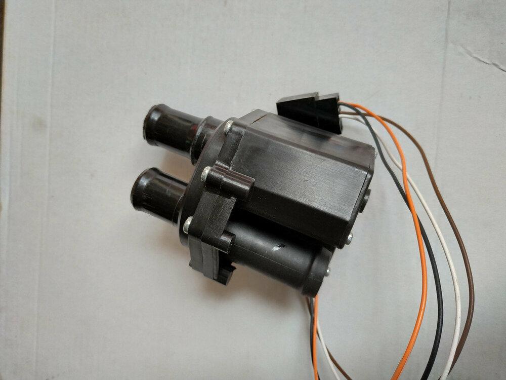 Электрический кран отопителя