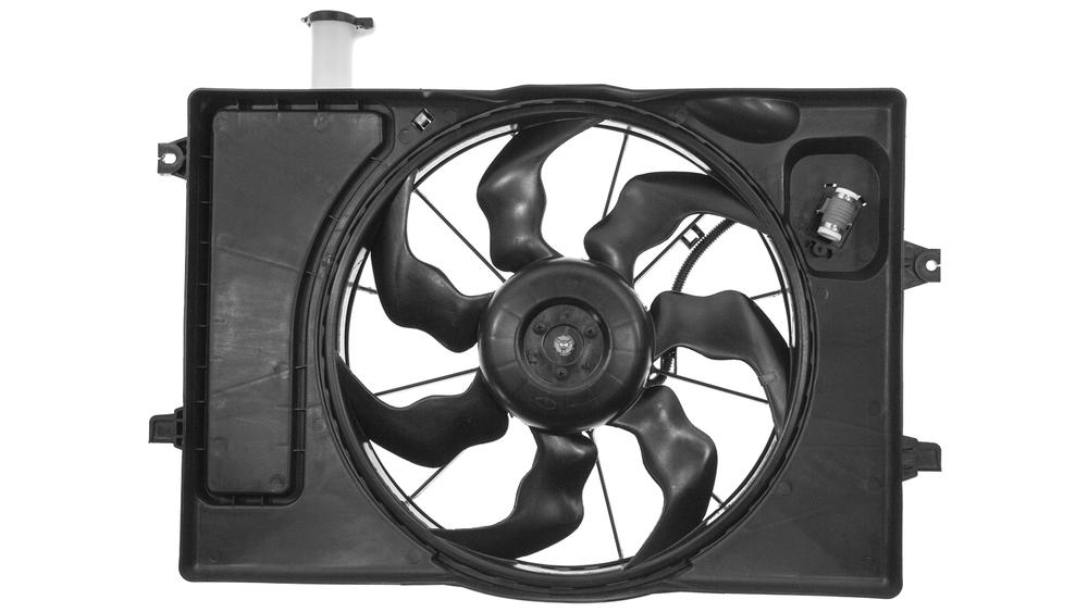 Электровентилятор в Hyundai Elantra