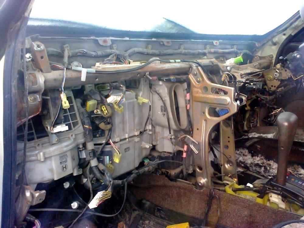 Печка в Toyota Vista
