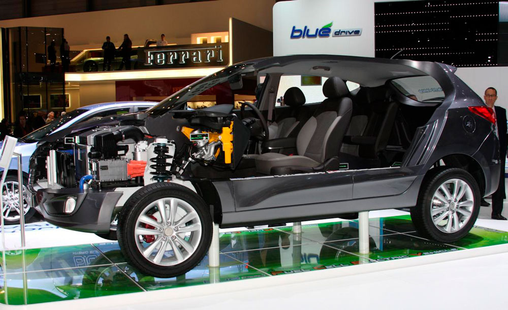 Hyundai ix35 в разрезе