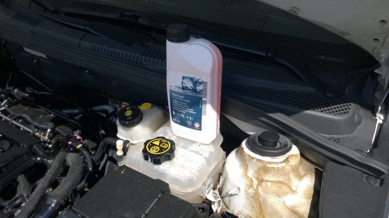 Антифриз для автомобиля Chevrolet Cruze