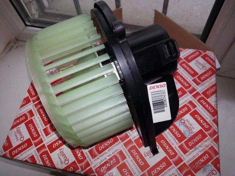Мотор печки на Fiat Ducato