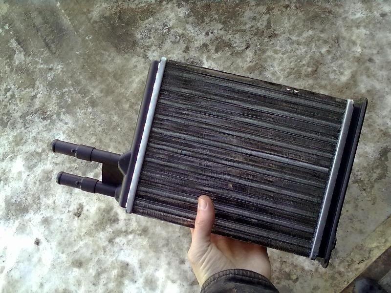 Радиатор печки Fiat Ducato