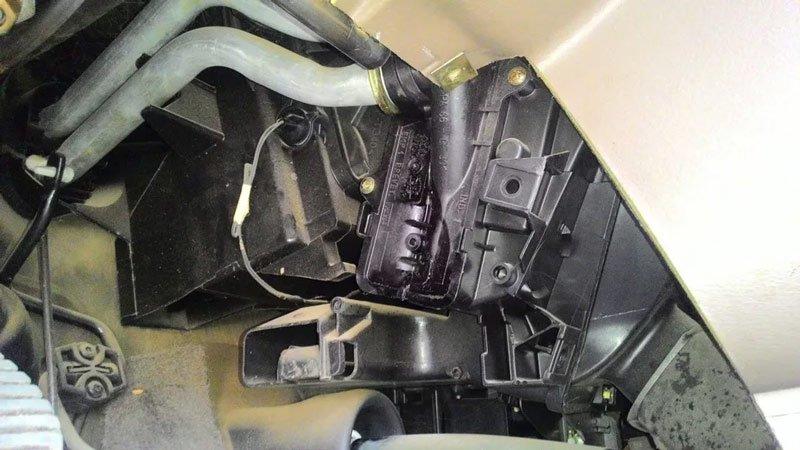 Печка автомобиля Iran Khodro Samand