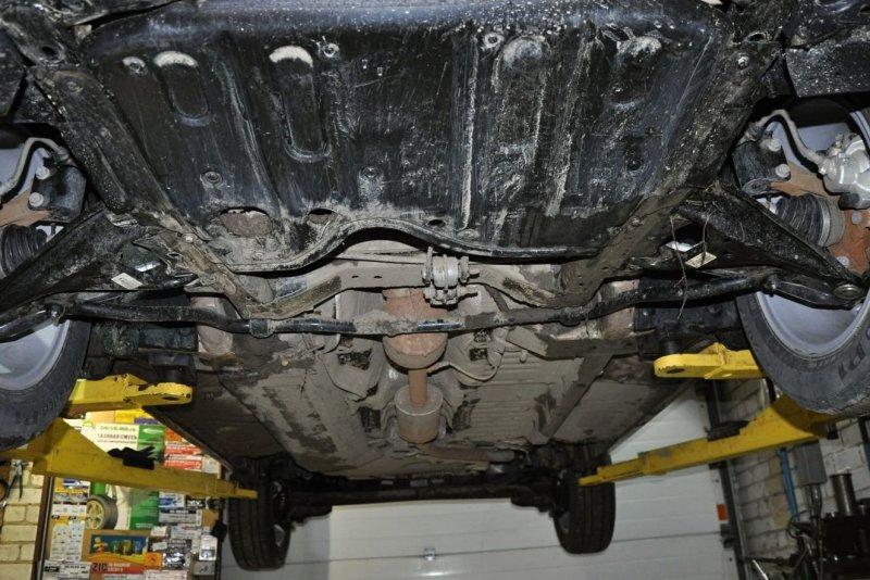 Ходовая автомобиля Lada XRAY